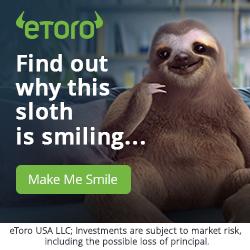 etoro sloth banner